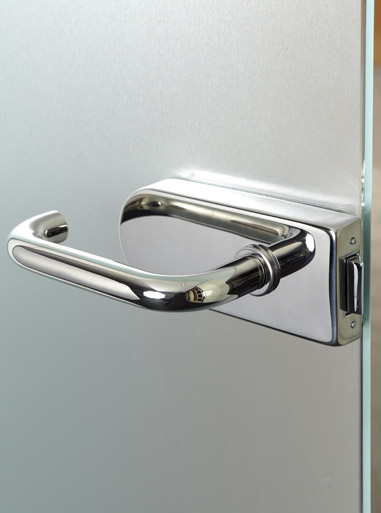 Standard Hinged Single Glass Door Handle